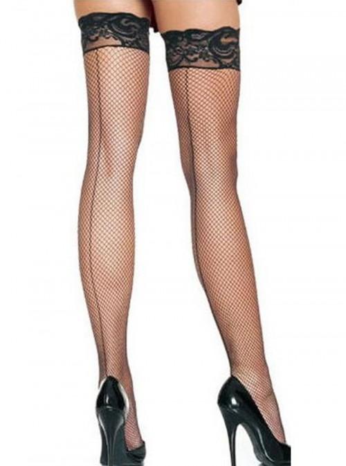 Bas résille coutures noirs | Gloria